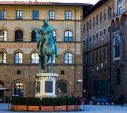Aciant-Italiener-Statue Lizenzfreie Stockbilder