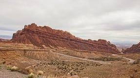 Łaciasta Wilcza jar przepustka Utah 2 Zdjęcie Royalty Free