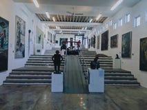 Łaciaty muzeum sztuki Obrazy Stock