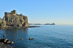 Acicastello, Катания, Италия Стоковое Изображение RF