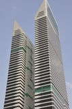 Acico bliźniacze wieże w Dubaj, UAE obrazy royalty free