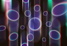 Acid bubble shaped objects illustration texture background. Diagonal orientation vivid vibrant bright color rich composition design concept element backdrop stock photos