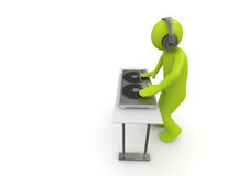 Acid DJ Royalty Free Stock Photo