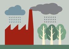 Acid Rain royalty free illustration