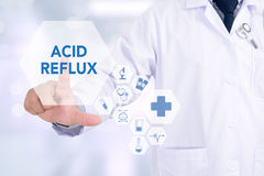 ACID REFLUX Royalty Free Stock Photography