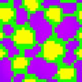 Acid seamless pixel art texture Stock Photography