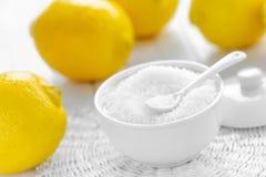 Acide citrique Photographie stock