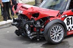 acident шток автомобиля Стоковые Изображения