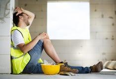 Acidente da construção Imagem de Stock Royalty Free