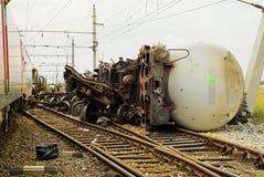 Acidente de Austria_railway Fotos de Stock