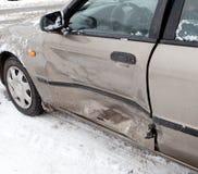 Acidente de choque de carro Fotografia de Stock Royalty Free
