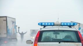 Acidente de trânsito Imagem de Stock Royalty Free