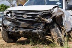 Acidente de trânsito do salvamento Imagem de Stock Royalty Free