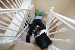 Acidente de trabalho Fotos de Stock Royalty Free