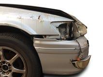Acidente do acidente de viação na estrada Fotos de Stock Royalty Free