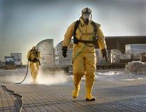 Acidente dos produtos químicos Foto de Stock Royalty Free