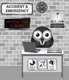 Acidente e emergência do hospital Foto de Stock