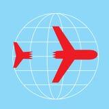 Acidentes de aviação Imagem de Stock