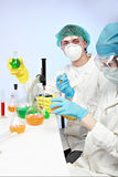 Acidity work Stock Images