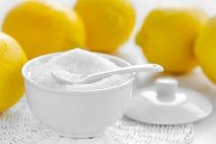 Acido citrico immagine stock libera da diritti