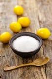Acido citrico fotografia stock libera da diritti