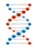 Acido deossiribonucleico Fotografia Stock Libera da Diritti