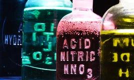 Acido nitrico fotografia stock libera da diritti