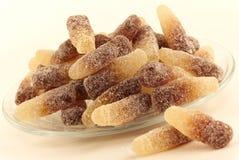 Acidulated cola gummy candies Royalty Free Stock Photos