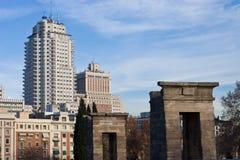 Acient Ägypten modernes Madrid Stockbild