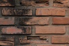 Acient-Backsteinmauer Grunge Backsteinmauerhintergrund Stockfotografie
