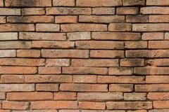 Acient-Backsteinmauer Grunge Backsteinmauerhintergrund Hintergrund von O Stockbilder