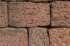 Acient-Backsteinmauer Grunge Backsteinmauerhintergrund Hintergrund von O Stockfotografie