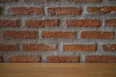 Acient-Backsteinmauer Grunge Backsteinmauerhintergrund Hintergrund von O Lizenzfreies Stockbild