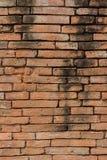 Acient-Backsteinmauer Grunge Backsteinmauerhintergrund Hintergrund von O Stockbild