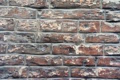Acient-Backsteinmauerbeschaffenheit Siena Stockfoto
