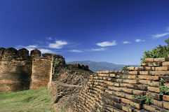 Acient fortress in chiang mai Royalty Free Stock Image