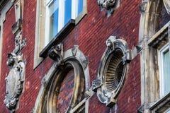 Acient-Gebäudeelemente Lizenzfreies Stockfoto