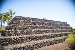Acient-Pyramiden in Guimar, Teneriffa, Kanarische Inseln, Spanien Lizenzfreies Stockfoto
