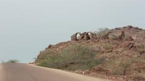 Acient-Ruinen des persischen castel Stockfotografie