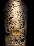 Acient Statue der Mexiko-Mayakunst Lizenzfreies Stockfoto