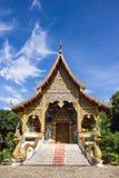 Acient tempel i Mae Jam, Chaingmai, Thailand fotografering för bildbyråer
