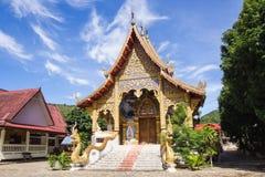 Acient temple in Mae Jam, Chaingmai, Thailand. It located in North of Thailand Stock Image