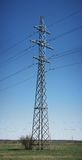 Acier d'approvisionnement de courant électrique image libre de droits