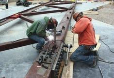 Acier de construction Photographie stock libre de droits