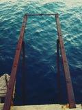 Acier de mer Photos libres de droits