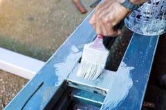 Acier de peinture Photographie stock