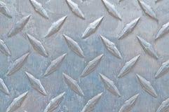 Acier de plaque de diamant Photographie stock