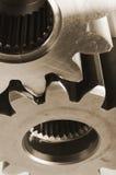 Acier-idées mécaniques Image stock