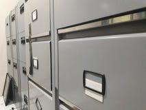 Acier inoxydable de Cabinet d'outil image stock