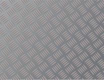 Acier ou métal de tôle de fond avec un modèle de zigzag Images libres de droits